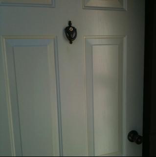 Hey Now, a door makeover